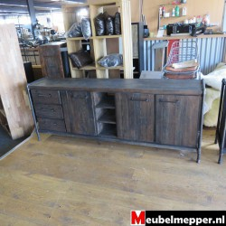Dressoir Industrieel  Nr-387