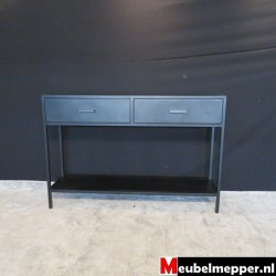 Sidetable  Joure Black Metal Nr-456