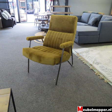 Fauteuil  Bram Yellow Nr-497
