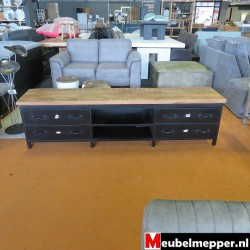 tv meubel - mango black 40% korting NR-513