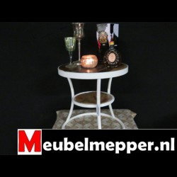 Bijzettafel Deventer - White - Meubelmepper
