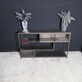 Grijs metalen  Sidetable Nr 653