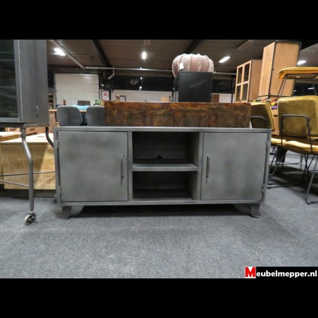 Tv-meubel metal grey NR-780 - 40% korting (Showroom model)
