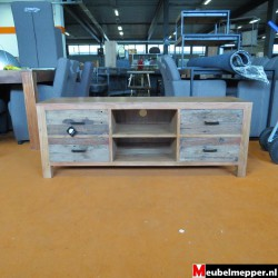 Tv-Meubel Old Teak met Mango NR-826 (Showroom model) .