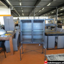 Grijs Metalen drank kast Nr-833 (Showroom model) - Meubelmepper