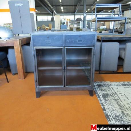 Vitrinekast grey small  Nr-834