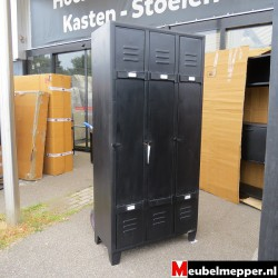 zwart metalen lockerkast Nr-962.