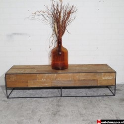 Salontafel industrial old teak NR-982