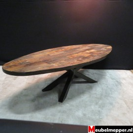 Salontafel ovaal - Matrix - Old Teak